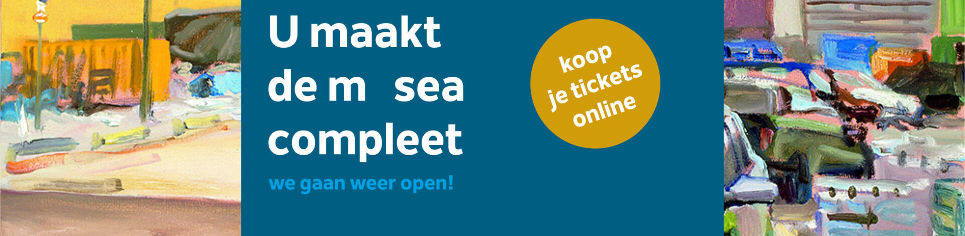 We gaan 1 juni open! Koop je tickets online