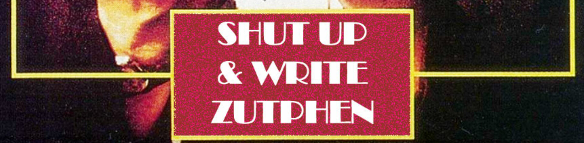 Shut Up And Write Spreekt | Voordrachten in de museumtuin